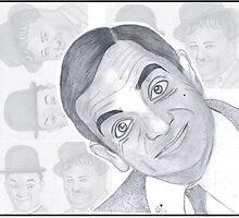 Mr.Bean by Bobby Dar