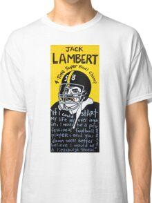 Jack Lambert Steelers Football Folk Art Classic T-Shirt