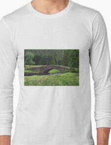 Stone Bridge in Scotland Long Sleeve T-Shirt
