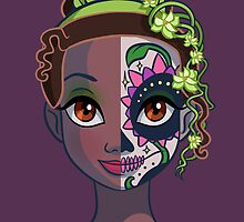 Sugar Skull Series: Tiana by Ellador