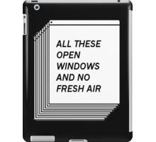 No Fresh Air iPad Case/Skin