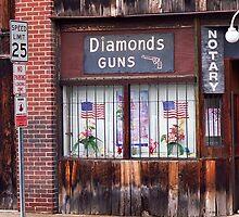 Johnson City, Tennessee - Gun Shop by Frank Romeo