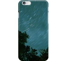 Treeline Star Trail iPhone Case/Skin