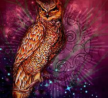 Owl of Minerva  by SavvySurreal