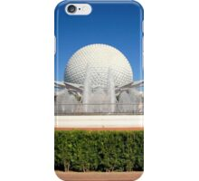 Spaceship Earth Landscape iPhone Case/Skin