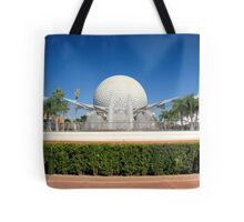 Spaceship Earth Landscape Tote Bag