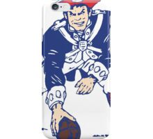 Throwback New England Patriots Logo iPhone Case/Skin