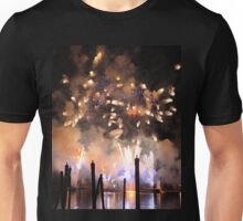 Fireworks on the Lagoon II Unisex T-Shirt