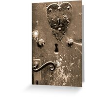 If I could find the key to your heart ... Greeting Card