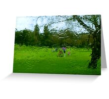 Rained Out Golf Weekend Greeting Card