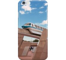Monorail at Sunset iPhone Case/Skin