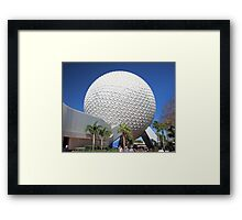 Spaceship Earth in Daylight Framed Print