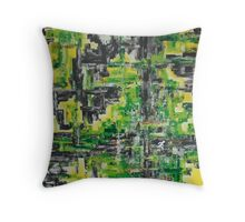 [Esc] from the concrete jungle at 1 lux Throw Pillow