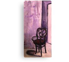 Daddy's Empty Chair Canvas Print