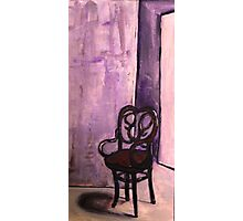 Daddy's Empty Chair Photographic Print