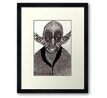 HALLOWEEN VAMPIRE NOSFERATU  Framed Print