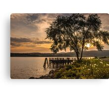 Verplanck Point Sunset  Canvas Print