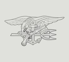 Navy SEALs outline by jcmeyer