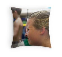 squinty squinty squint nanana booboo Throw Pillow