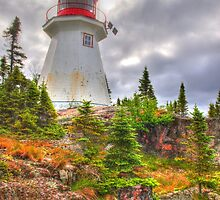 Otter Island Lighthouse by Dawne Olson