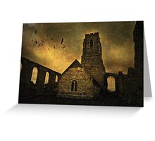 Cove Hithe Church, Suffolk (Gothic style) Greeting Card