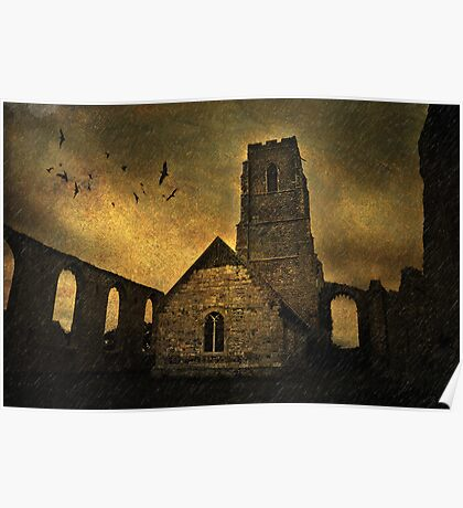 Cove Hithe Church, Suffolk (Gothic style) Poster