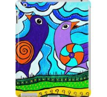 Retro Birds iPad Case/Skin