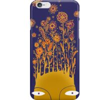 Psychedelic flower power iPhone Case/Skin