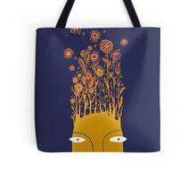Psychedelic flower power Tote Bag