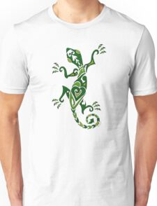 Lizard Tattoo -textured Unisex T-Shirt