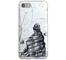 Wrapped Up On The Roof iPhone Case/Skin