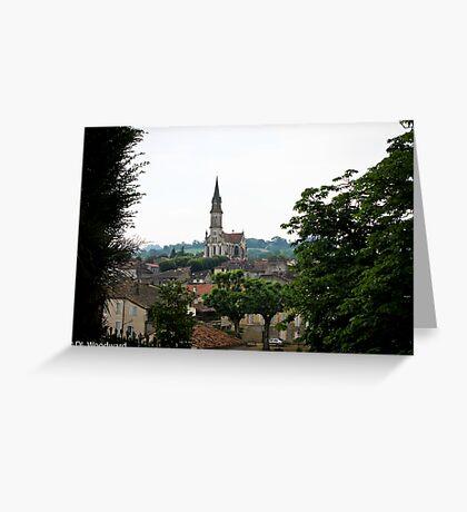 Nerac, France Greeting Card
