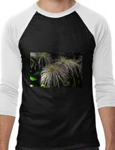 Spider Mums Men's Baseball ¾ T-Shirt