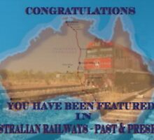 Featured Banner For Australian Railways Past and Present by glennmp