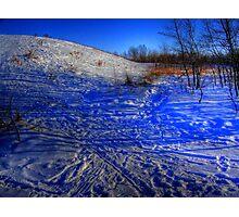 Mount Maple Leaf Photographic Print