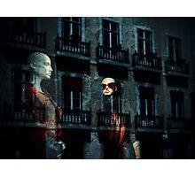 Shop reflection Photographic Print