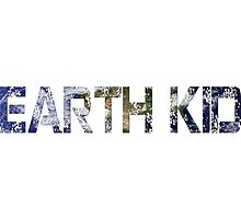 Earth Kid Photographic Print