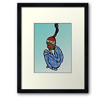 Reckless Abandon Framed Print