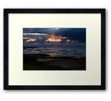 Marrawah Sunset Framed Print