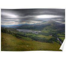 Schiehallion Loch Tummel Poster