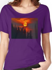 Cariboo Wildfire Sun Women's Relaxed Fit T-Shirt