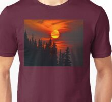 Cariboo Wildfire Sun Unisex T-Shirt