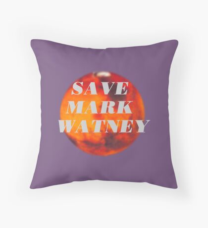 Save Mark Watney  Throw Pillow