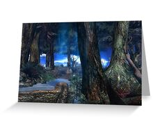 Bentham Forest Greeting Card