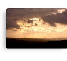Evening on the North York Moors Canvas Print