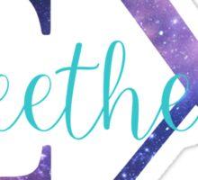 sigma chi sweetheart galaxy Sticker
