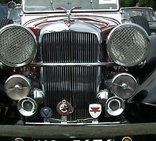 Alvis speed 25 Tourer by Andy Jordan