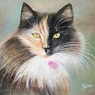 Faces- Pastel Painting  by Esperanza Gallego