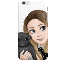 Zoella & Nala iPhone Case/Skin
