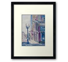 10TH and Washington or The Carpet Seller Framed Print